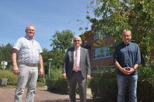 Herr Schofer, Herr Marzluf und Herr Eisele sind auf dem Bild zu sehen